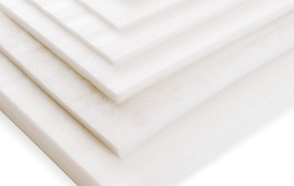 Sheets of polyethylene foam PE
