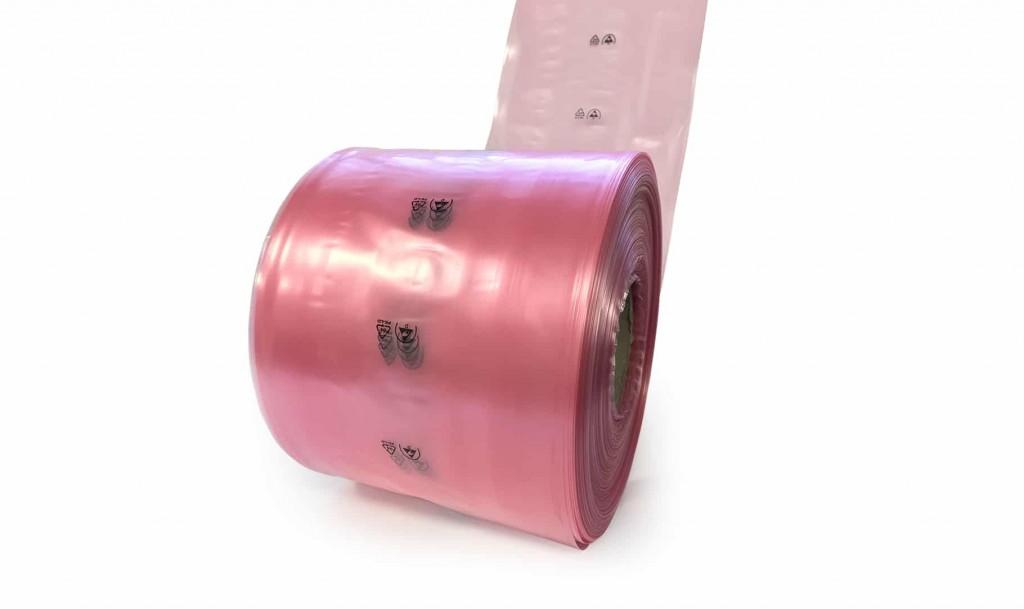 20181023172502 ESD Tubing Dissipative Half Sleeve Antistatic bag 2 s cut